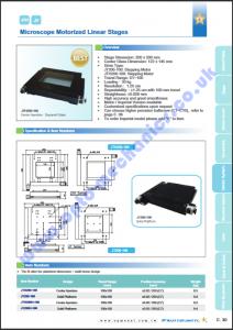 JT200-100 Microscope Stage PDF thumbnail