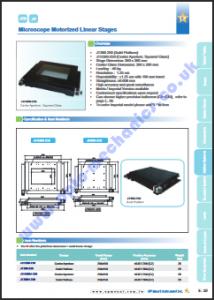 JT360-250 Microscope Stage PDF thumbnail