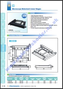JT640-350 Microscope Stage PDF thumbnail