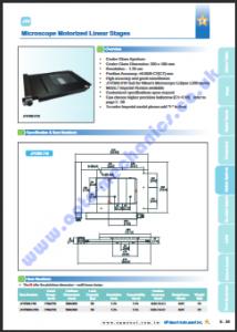 JTV360-210 stage for Nikon Eclipse L200 PDF thumbnail