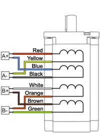 SM8680 - NEMA34 Stepper Motor Wiring Parallel