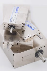 Pile of SMAC moving coil actuators - arty